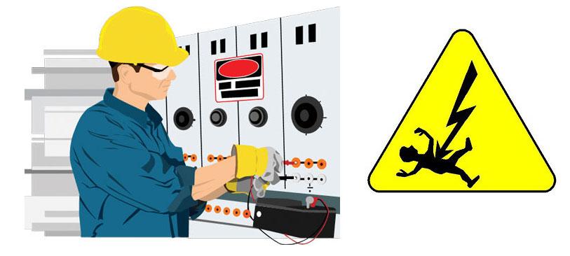 دانلود تحقیق ایمنی در برق، عایق بندی قسمتهای برق دار، ایجاد حصار و موانع